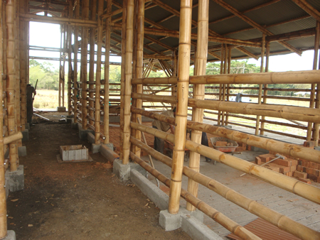 Construccion de corrales Agropecuaria Laurentina